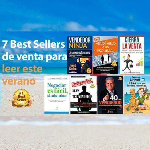 Los 7 mejores libros de venta de autores españoles que han sido Bestseller en Amazon